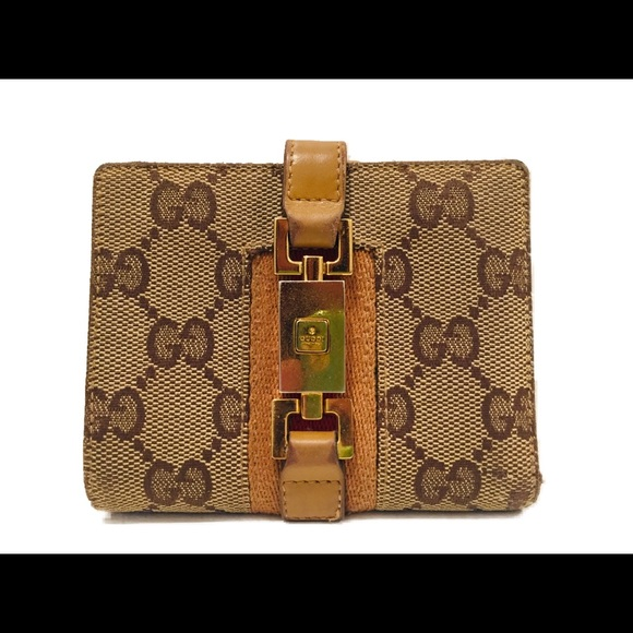Gucci Handbags - GUCCI Wallet-Monogram Canvas & Leather